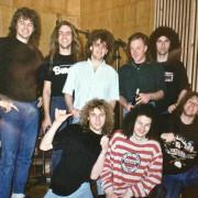 Mit Uli Kusch (Helloween), Kay Hansen (Helloween, Gamma Ray), Tommy Newton (Victory)