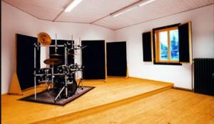 Aufnahmeraum Klangfabrik